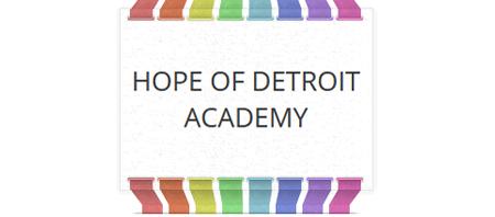 Hope of Detroit Academy